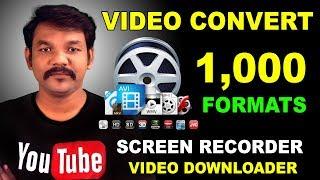 Wondershare Video Converter Ultimate Tutorial - Convert, Download, Burn any Video   Online Tamil