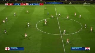 PS4 FIFA 18 Gameplay Croatia vs England [HD]