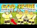 Destroying an Entire God Tribe Solo (Roblox Booga Booga)
