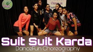 Suit Suit Karda | Guru Randhawa ft. Arjun | Girls Choreography @pkdancefun