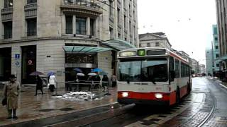 Geneve's trolley bus at Cite