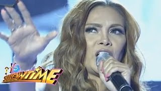 It's Showtime: K Brosas sings
