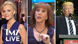 Kathy Griffin Explains Why She's Piseed At Donald Trump & Megyn Kelly! I TMZ LIVE