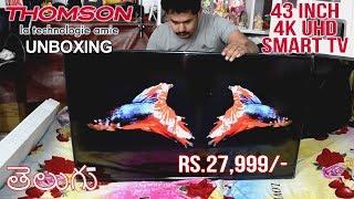 Thomson LED Smart TV 43 inch 4K UHD TV (UD9) in Telugu | Tech-Logic