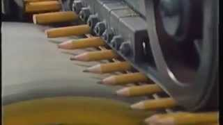How Pencils are Made : Pencil Factory with YBird