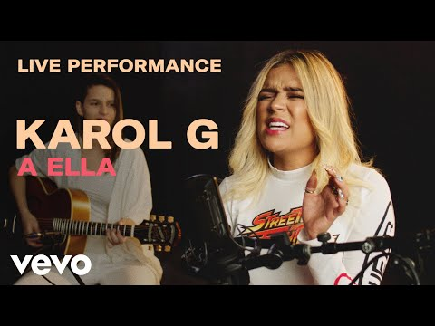 Karol G A Ella Live Performance Vevo