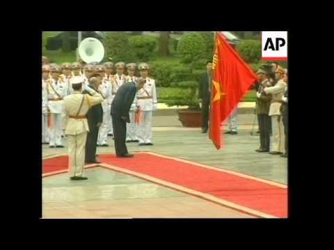 Cuban leader arrives in Vietnam ahead