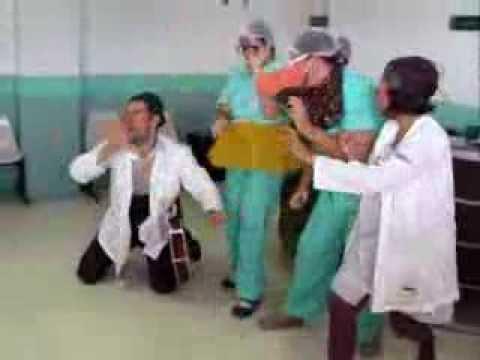 Doutores da Alegria Show das enfermeiras no IMIP Recife