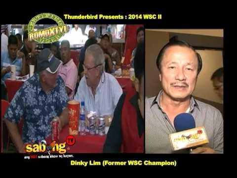 CRU Dinky Lim Former WSC Champion 2014 WSC II