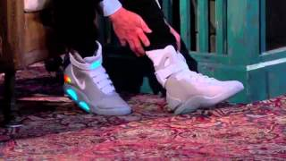 Nike MAG 2015 Introduction !! Back to the future 2 shoes