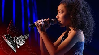Eithne performs 'I See The Light': Blinds 3 | The Voice Kids UK 2017