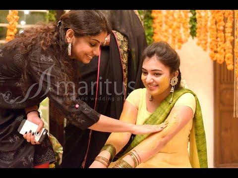 Nazriya Nazim Mehendi and Haldi Ceremony.......