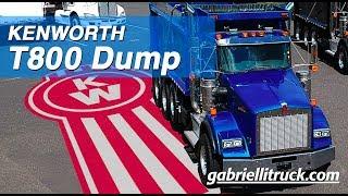 NEW Kenworth T800 Blue Dump Truck For Sale Near Me