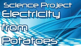 Producing Electricity from Potatoes - Science Project (Hindi / Urdu)