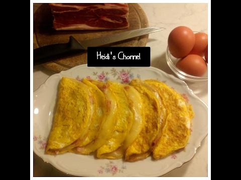 Xxx Mp4 Omelette Con Prosciutto E Mozzarella Easy Recipe 3gp Sex