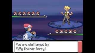 Barry - Final Battle - Pokémon Platinum Version