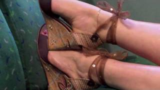 Giselle In Ultimate Hot Sweaty Feet In Public Foot Fetish Tribute