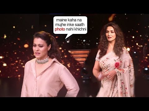 Xxx Mp4 Kajol Shows ATTITUDE To Maduri Dixit When Media Asks For Photograph Together On Dance Diwaane Sets 3gp Sex