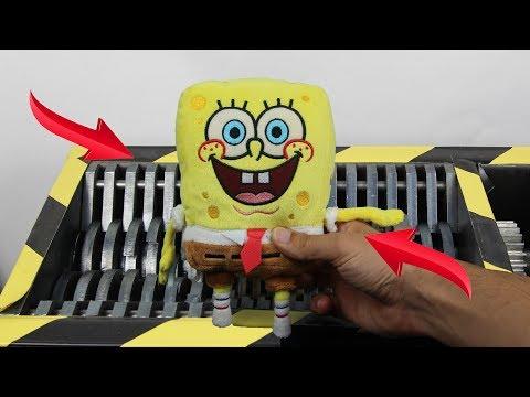Xxx Mp4 Experiment Shredding SpongeBob Squarepants And Toys The Crusher 3gp Sex