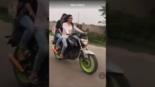Cute Bangladeshi Girl Bike Riding  ....TUBE FOR YOU TV
