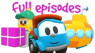 Leo the truck & cars for kids. Cartoons for kids.