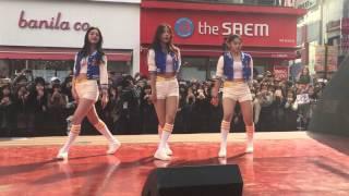 프로듀스101 3월 26일 게릴라콘서트 24시간 고화질 직캠(맨앞줄) @ 대구 동성로