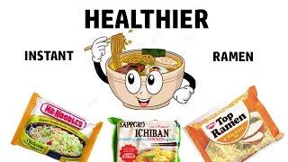 QUICK & EASY Healthier Ramen Noodles LOW SALT & NO MSG