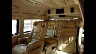Luxury Toyota Hiace Commuter Van Hire