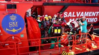 Simulacro Salvamento buque químico Huelva 2