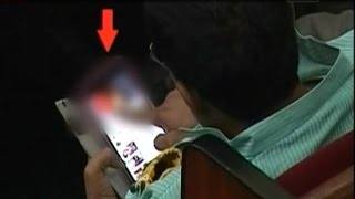 Caught on camera: Congress member watching obscene video clip in Odisha Assembly