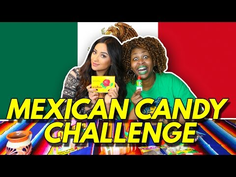 Mexican Candy Challenge w GloZell Shay Mitchell