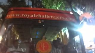 Fans Cheering for RCB team outside Stadium