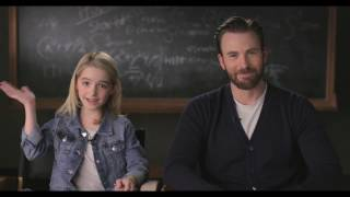 """GIFTED Movie Moment """"Kitchen"""" - Introduction by Chris Evans & Mckenna Grace"""