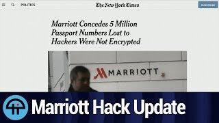 Marriott: 5 Million Passport Numbers Stolen