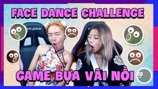 GAME HOT: Face Dance Challenge bựa vãi nồi - Giải trí cùng Oh Hoàng Hậu và Dĩnh mama
