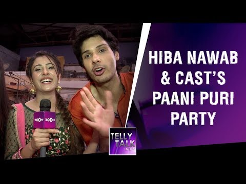 Xxx Mp4 Hiba Nawab Starcast S Pani Puri Party Jijaji Chhat Par Hai S 100 Episode Celebrations 3gp Sex