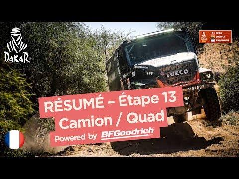 Xxx Mp4 Résumé Camion Quad SxS Étape 13 San Juan Córdoba Dakar 2018 3gp Sex