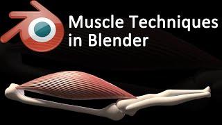 Blender Muscle Deformation Techniques [ENGLISH]