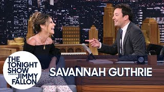 Jimmy Gave Savannah Guthrie a Pie Infection