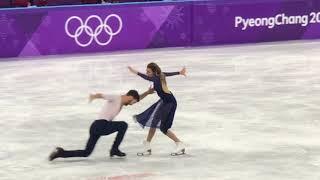 Cizeron and Papadakis 2018 PyeongChang Olympic free dance new world record 123.35
