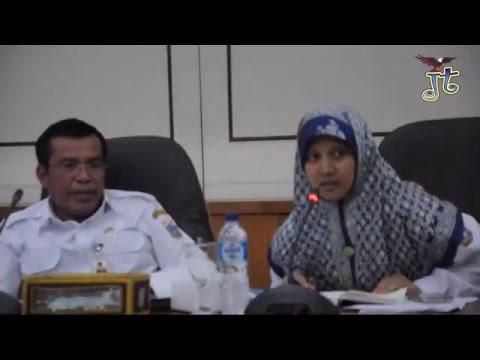 Sekretaris Kota Administrasi Jakarta Timur Pimpin Rapat Evaluasi Aplikasi Qlue