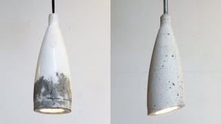 Homemade Modern, Episode 9 -- DIY concrete pendant lamp