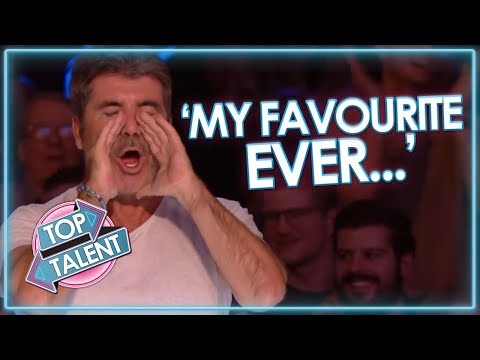 Simon Cowell s FAVOURITE EVER UK Auditions Got Talent and X Factor Top Talent