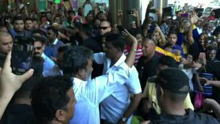 Thalaivar Superstar Rajinikanth @ Malaysia UOA Bangsar Kabali shoot