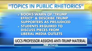 Colorado University Professor Assigns Anti-Trump Material as Required Class Reading