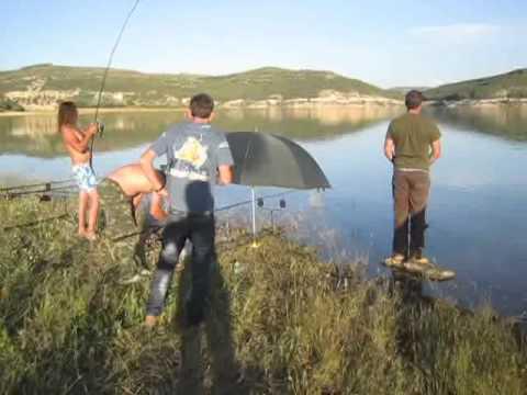 Pesca de carpa de 12.5 kg en el Pantano Buendia