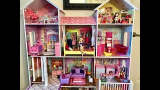 Barbie HOUSE!! NEW! BIG! Haley and Ally!