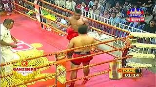 មឿន សុខហ៊ុច Vs មង្គលផេត, Moeun Sokhuch, Cambodia Vs Mongkul Phat, Thai, Khmer Boxing 15 Dec 2018
