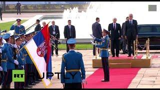 LIVE: Putin visits Belgrade on Liberation Day