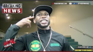 Nathaniel Gallimore STUNS Justin DeLoach!!: Post-Fight Interview
